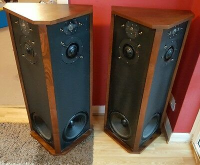 RARE!! PAIR OF ALLISON ONE SPEAKERS home/sound/audio/music/songs/stereo/vintage