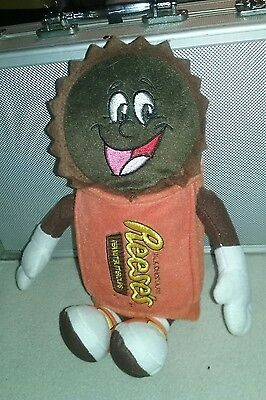 """Hershey Reese's  Milk Chocolate Peanut Butter Cups Character Plush 12"""""""