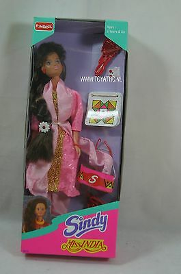 Sindy barbie sized doll Miss India by Funskool India ltd. from 1996 NRFB