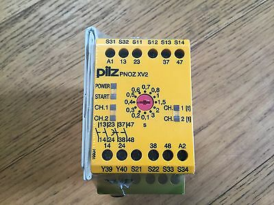 Pilz Pnoz XV2 Safety Relay 24v DC
