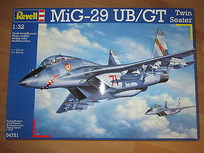 Revell - MiG-29 UB/GT Twin Seater Zweisitzer, Revell 04751 Bausatz Kit in 1:32