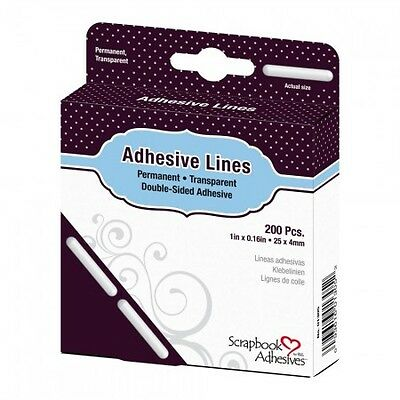 DODZ ™ - Klebelinien 25 x 4 mm - permanent - Scrapbook Adhesives - 3L