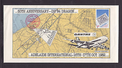 Souvenir  Cover:adelaide International Airport Openning 1982