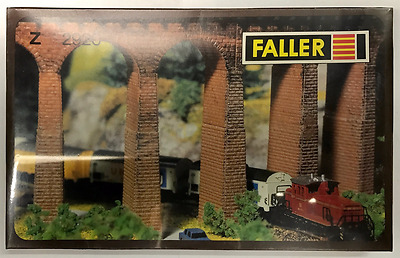 Faller 2920 Z Scale Stone Extensions For Viaduct Piers    Z Gauge