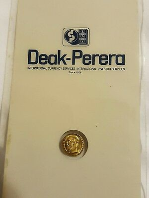 Maximillian Mexican Gold Coin (sealed)  FREE SHIPPING