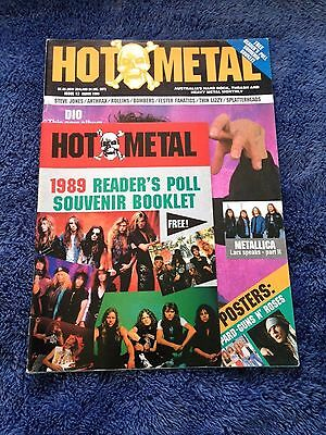 HOT METAL - Issue 13 - Australian Heavy Metal Magazine March 1990