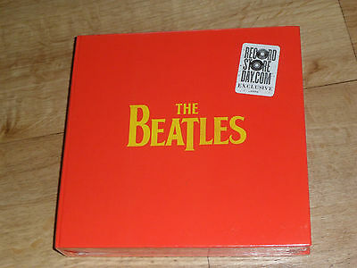 "The Beatles 7"" Vinyl 4 single + poster box set Sealed NEW Record Store Day RSD"