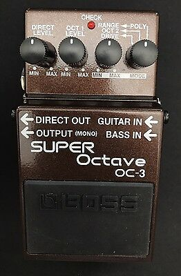 Boss OC-3 Octave Effects Pedal