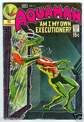 Aquaman # 54 Nov.-Dec. 1970 Vg