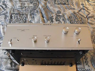 Vintage SONY TA-3200F Solid State Stereo Power Amplifier