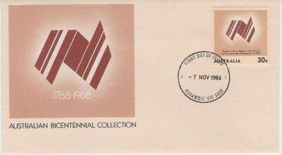 AUSTRALIA BICENTENNIAL COLLECTION 1984  FIRST DAY COVER P&P discount available