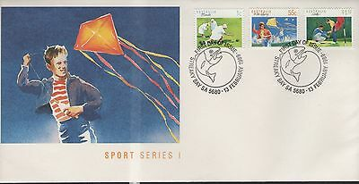 Australia Sport Series 1 1989 First Day Cover Free P&p