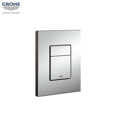 GROHE Skate Cosmopolitan Dual Flush WC Wall Plate, Chrome Plated, 38732 000