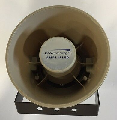 "Speco Technologies Aspc20 20W 6"" Wp Amplified Pa Speaker"