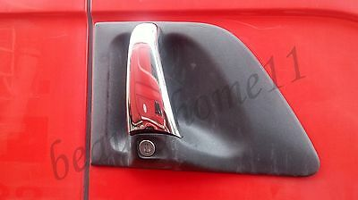 Set of 2 pcs Handle Covers For SCANIA R Series MADE OF POLISHED STAINLESS STEEL