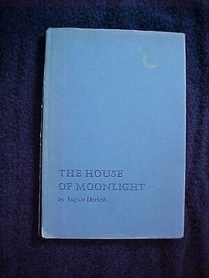 House of Moonlight by August Derleth 1953 HC DJ Limited 1st edition book