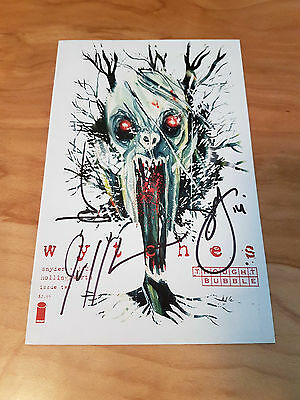 Wytches #2, 1st Print, Rare Thought Bubble Variant, X3 Signed Snyder Jock Lemire