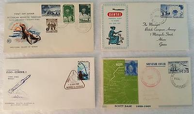 Antarctica - Four Different Covers - One Lot - 1950's and 1960's