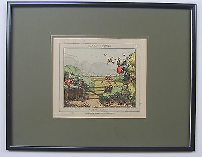 Field Sports pair of antique prints by William Cole