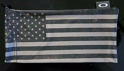 NEW Oakley Subdued USA American Flag Microfiber Bag RARE Cleaning Cloth Micro