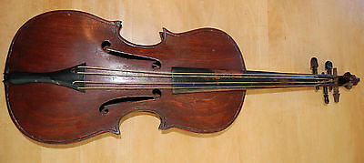 Antique Folk Violin Fiddle RARE