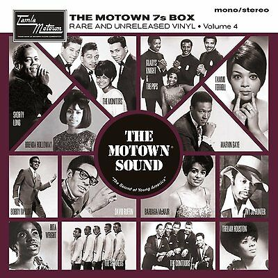 "The Motown 7s Vinyl Box Volume 4 - Sealed 7"" Set David Ruffin Spinners Monitors"