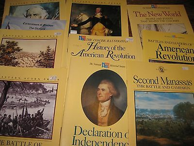 LOT of 10 Acorn Press American history oversize illustrated Pbs Civil War more