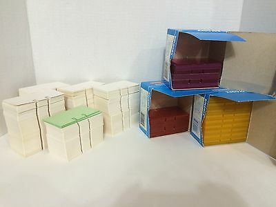 Rolodex TP-24 Card Protector Lot Plus 2000+ Refill Slotted Cards