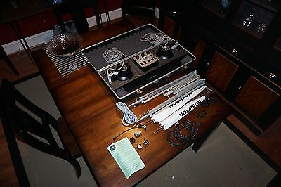 Novatron 240 Photo Strobe Lighting Set w/Stands & Umbrellas Barely Used