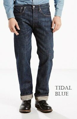 Mens Levis 501 Original Fit Jeans Straight Leg Button Fly Many colors fast ship