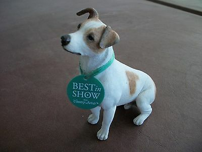Jack Russell Terrier dog figurine  made by Country Artists Best in Show