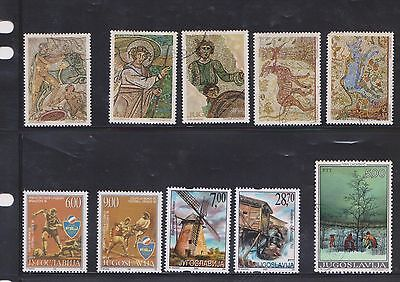 (U27-3) 1930-2002 Yugoslavia mix of 28 stamps value to 28d (C)