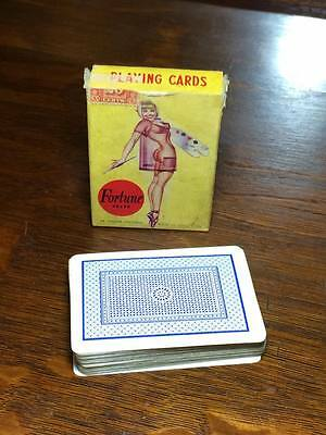 Vintage Fortune brand nude female playing cards