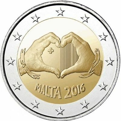 Malte 2016 - 2 euro commémorative - Love - UNC