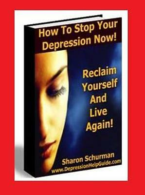Stop Your Depression - Reclaim Your Life & Live Again!!