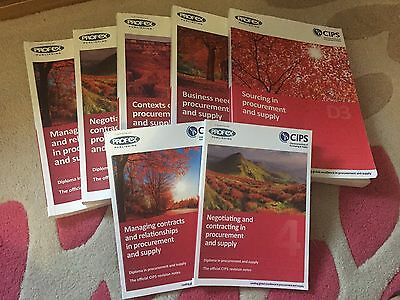 LEVEL 4 CIPS BOOKS SET Profex diploma Procurement & Supply Chartered institute