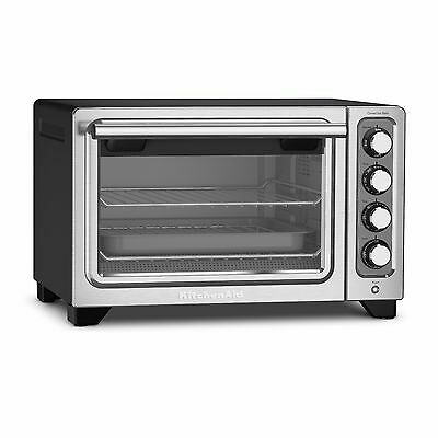 KitchenAid KCO253CU 12-Inch Compact Convection Countertop Oven -New