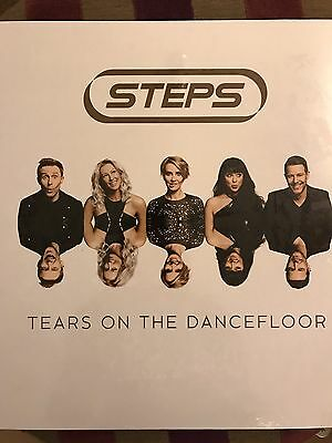 "Steps - Tears On The Dancefloor 12"" Neon Blue Vinyl Album Rare & Sold Out"