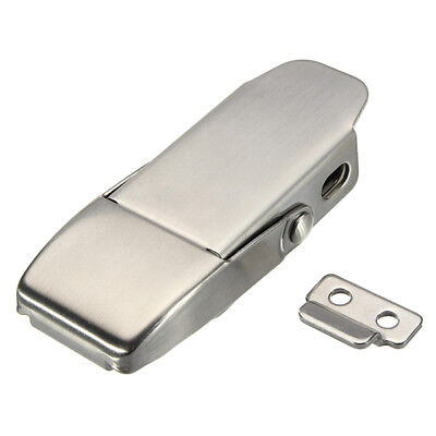 304 Stainless Steel Concealed Toggle Latch Safety Catch Non-Locking Spring Loade