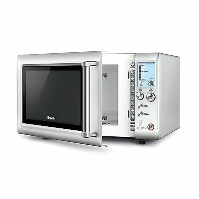 Breville L.P. BMO625SIL Quick Touch Compact Microwave, Silver