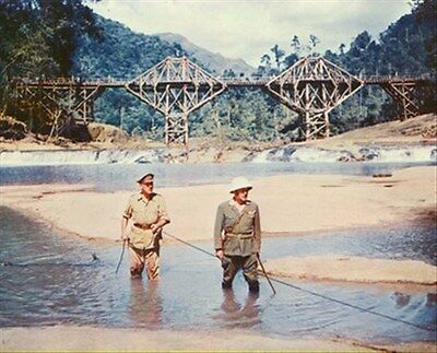 THE BRIDGE ON THE RIVER KWAI FILM foto 8x10 foto fine foto 255337
