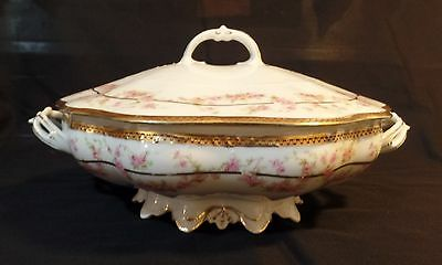 Kaiserin Maria Theresia Covered Serving Dish Carlsbad China K.B.N.Y. MZ Austria