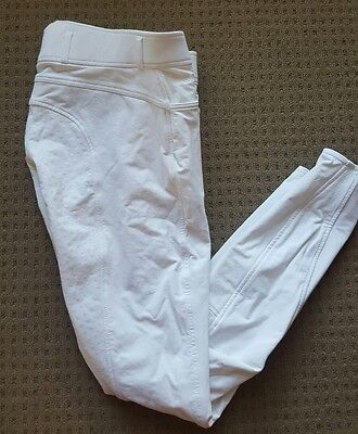 Montar white competition breeches - RRP $219.95