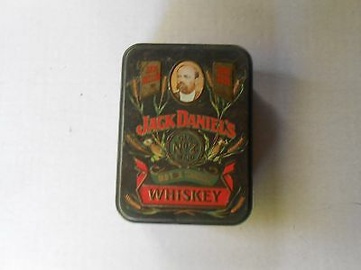 Vintage Jack Daniels Distillery Advertising Tin with 2 Empty Bottle
