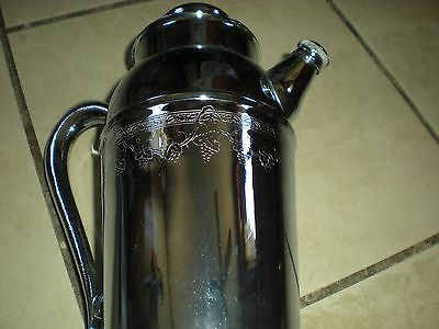 Vintage Metal Water Pitcher / Coffee Pot