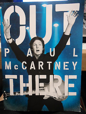 Paul McCartney - Out There Tour Book 2013 with 3D Glasses and Poster