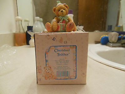 "Cherished Teddies ""two Sweet Two Bear"" 911321 Age 2 Figurine  1992"