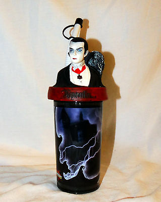 Universal Monsters Count Dracula Sippy Cup with Straw NEW Halloween Vampire