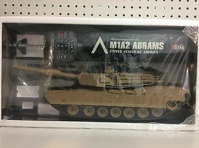 Vs Tank, UNITED STATES OF AMERICA M1A2 ABRAMS, Scale 1:24, RC Battle Tank