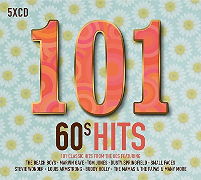 Various Artists-101 60S Hits  (UK IMPORT)  CD NEW